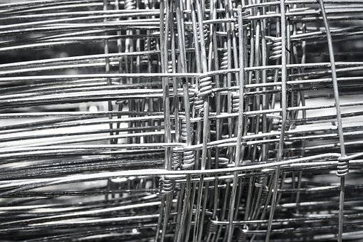 Wire, Metal, Silver, Structure, Cross, Close Up, Symbol