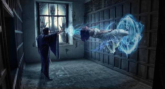 Magician, Photomontage, Fantasy, Mystical, Mysterious