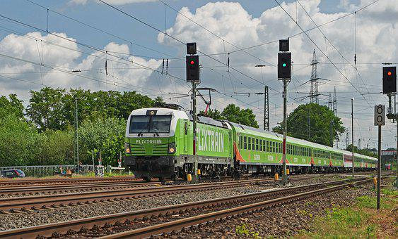 Flixtrain, Fernzug, Private Railway, Express Train