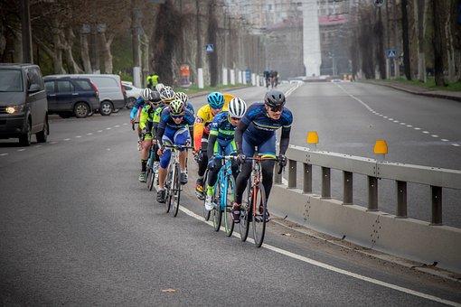 Cyclist, Bike, Sports, Race, People, Cycling, Road