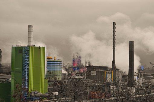 Thyssen, Steel, Stahwerk, Duisburg, Bruckhausen