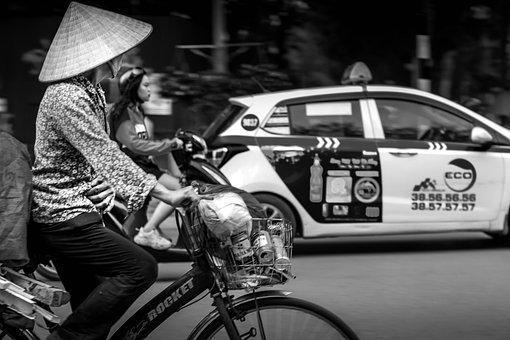 Bike, Vehicle, Bicycle, Transportation, Woman, Cycling