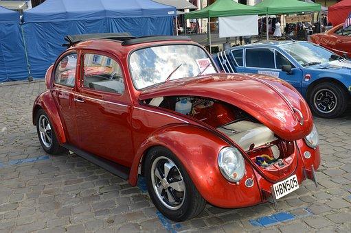 Volkswagen New Beetle, Car, Automobile, Vehicle