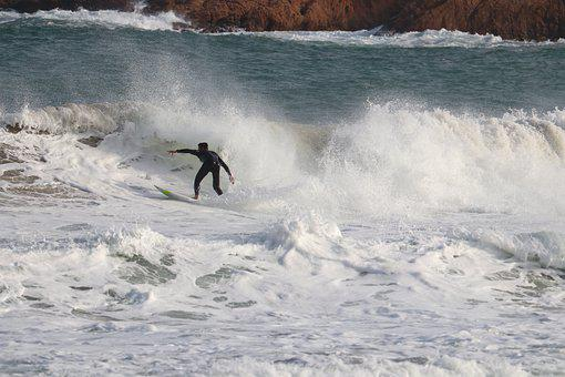 Surf, Surfing, Waves, Water, Surfer, Surfboard, Outdoor