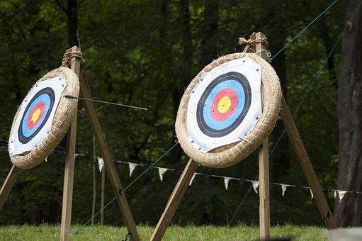 Arrow, Flying, Target, Range, Sport, Aim, Hit, Accuracy