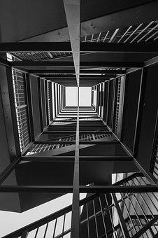 Architecture, Stairs, Emergence, Cologne, Spiral