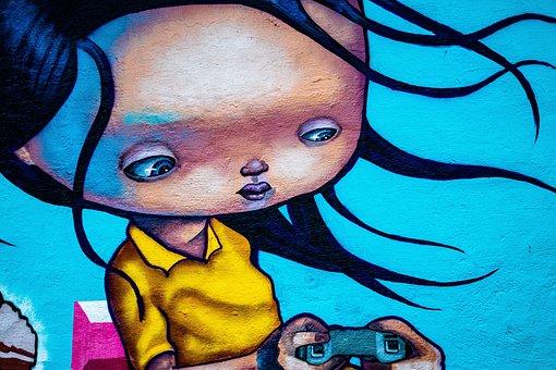 Graffiti, Art, Wall, Colorful, Norway