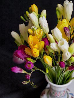 Flower, Decor, Parfum Of, Fres In The, Background