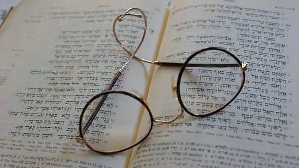 Read, Book, Glasses, Literature, Study, Books, Bible