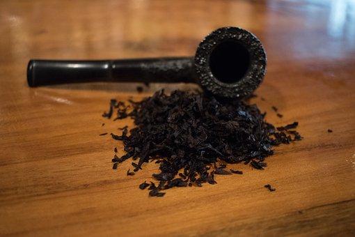 Pipe, Tobacco, Briar, Smoking, Rusticated, Cavendish