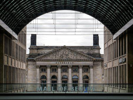 Berlin, The Reichstag, Germany, Architecture, Building