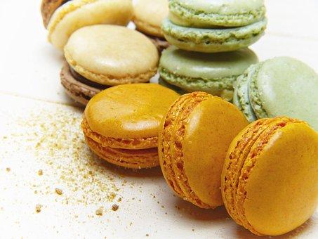 Macarons, Sugar, Muscovado, Cookies, Bake, Color, Sweet