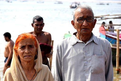 Old, Couple, Elderly, People, Retirement, Love