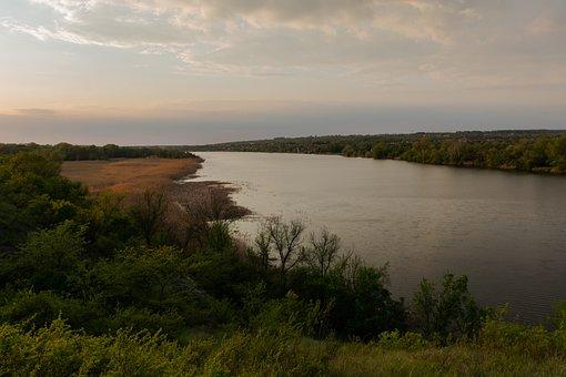 Landscape, Russian Landscape, River, Don Steppe, Nature