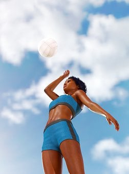 Summer, Sky, Game, Clouds, Entertainment, Girl, Young