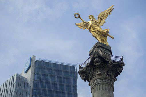 Independence, Angel, Mexico, Monument, National
