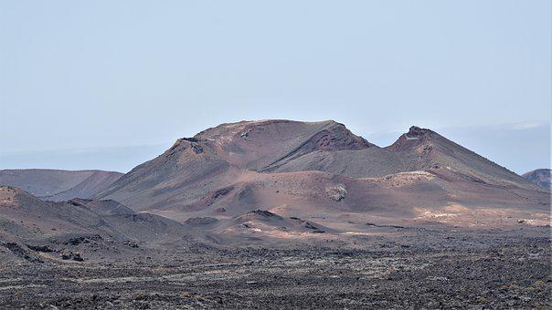 Volcano, Timanfaya, Lanzarote, Lava Field, Island