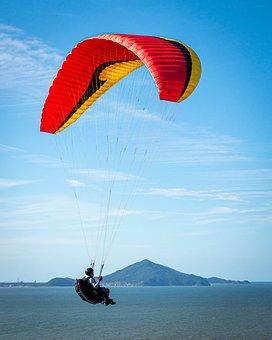 Paraglider, Leisure, Paragliding, Sport, Freedom