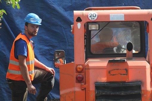 Machine, Guy, Man, Technology, One, The Workman, Work