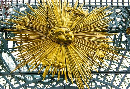 Sanssouci, Gold, Ornament, Decoration, Potsdam