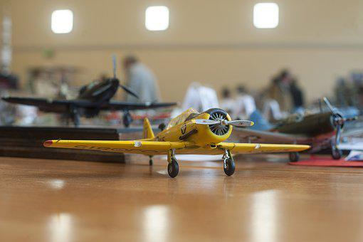 Model Plane, Fighter, Model, Plane, Airplane, Toy