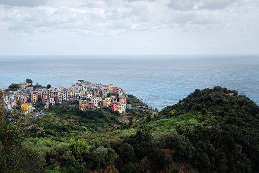 Cinque Terre, Corneglia, Vernazza, Hike, Sea, Italy