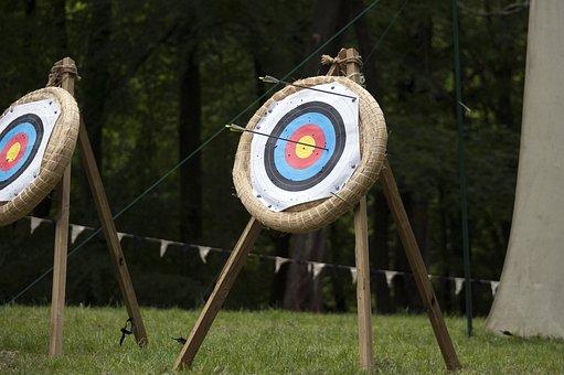 Arrow, Target, Range, Sport, Aim, Hit, Accuracy