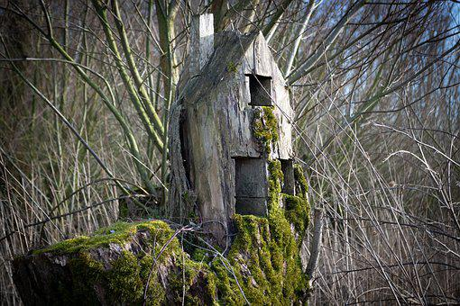 Nature, Forest, Wood, Building, Tribe, Old, Altena