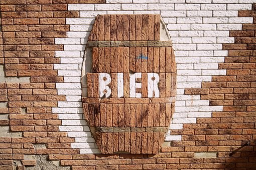 Beer, Advertising, Marketing, Wall, Alcohol, Drink