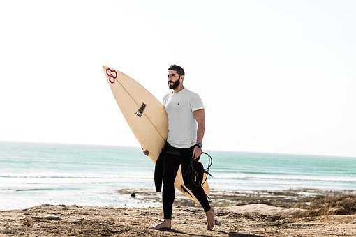 Surfer, Surf, Ocean, Beach, Water, Sea, Surfing, Man