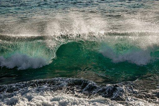 Wave, Splash, Water, Sea, Nature, Splashing, Spray