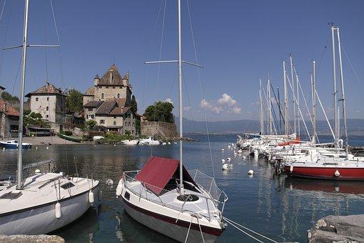 Yvoire, Lake Geneva, Lake