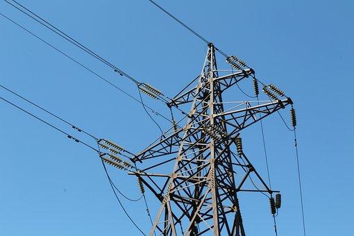 лэп, электричество, Electricity, Energy, Industry