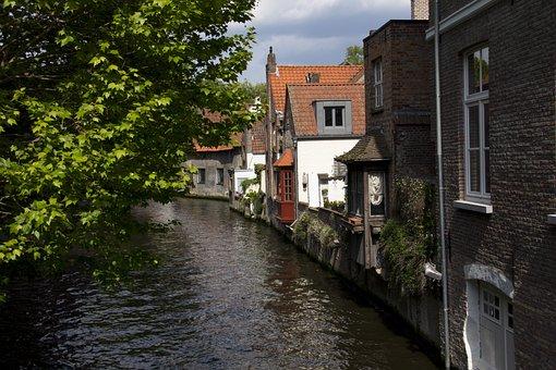 Bruges, House, Belgium, Architecture, Building, Facade