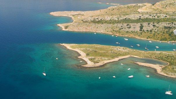Croatia, Coastline, Clean Sea Water, Krk Island