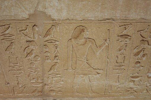 Hieroglyphs, Egypt, Cairo, Egyptian, Hieroglyphics