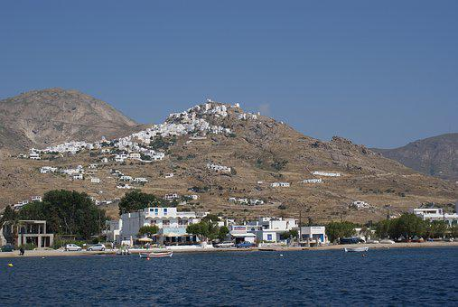 Island, Serifos, Greece, Cyclades, Bay, Sea