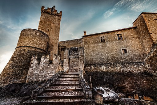 Castle, Stone, Architecture, Middle Ages, History