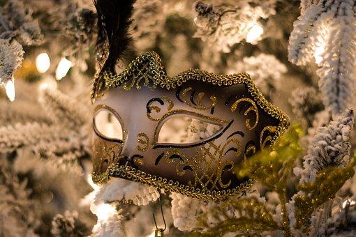Mardi Gras, Mask, Costume, Carnival, Louisiana, Holiday