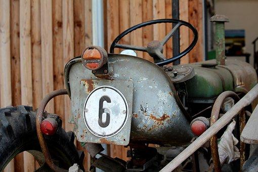 Steyr, Tractors, Old, Nostalgic, Rust, Oldtimer