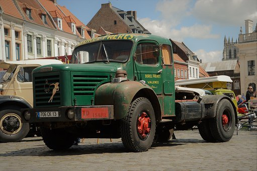 Truck, Transport, Vehicle, Traction, Road, Heavy Weight