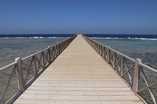 Egypt, El Quseir, Web, Jetty, Radisson Blu, Sea