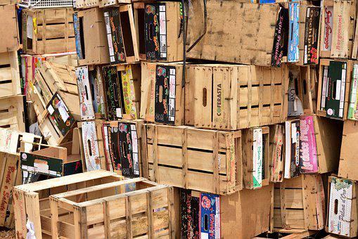 Cartons, Box, Wear, Boxes, Pack, Crates