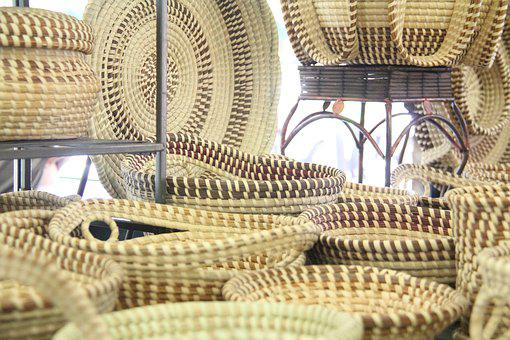Sweetgrass Basket, Basket, Charleston, Gullah