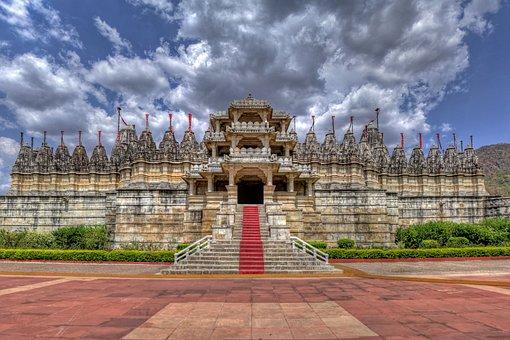 Ranakpur, Jain, Temple, Rajasthan, India, Heritage