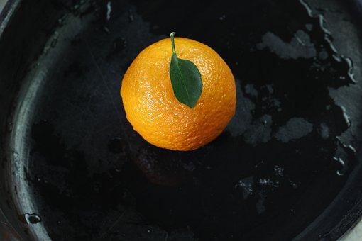 Tangerine, Separate, Juicy, Yellow, Orange, Fruit