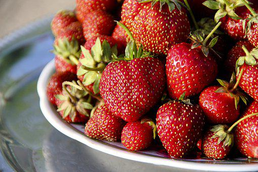 Strawberry, Berry, Fruit, Nutrition, Red, Sweet
