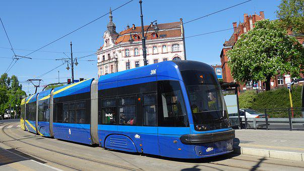 Tram, Communication, Transport, Tracks, Rails