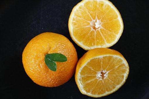 Orange, Oranges, Background, Fruit, Healthy, White