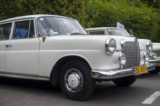 Car, Retro, Mercedes, Auto, Vehicle, Vintage, Classic